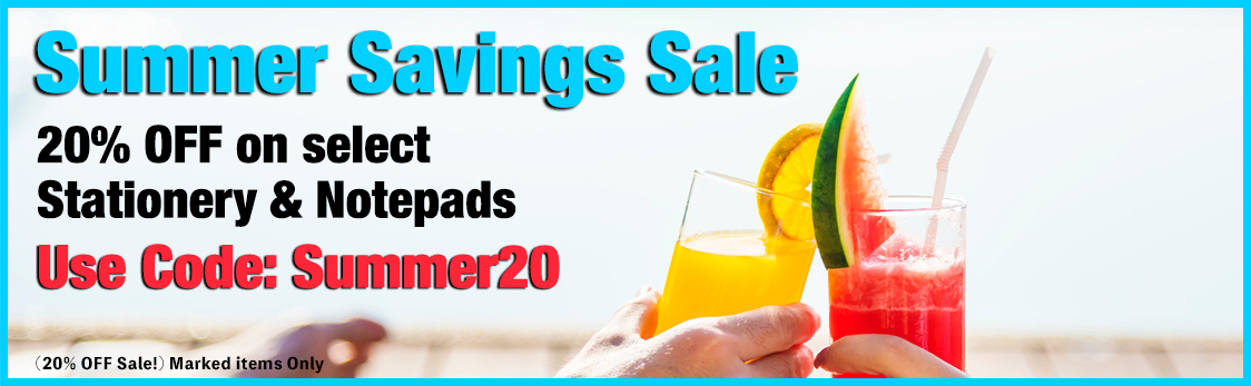 20% OFF Summer Savings Sale at StationeryXpress.com