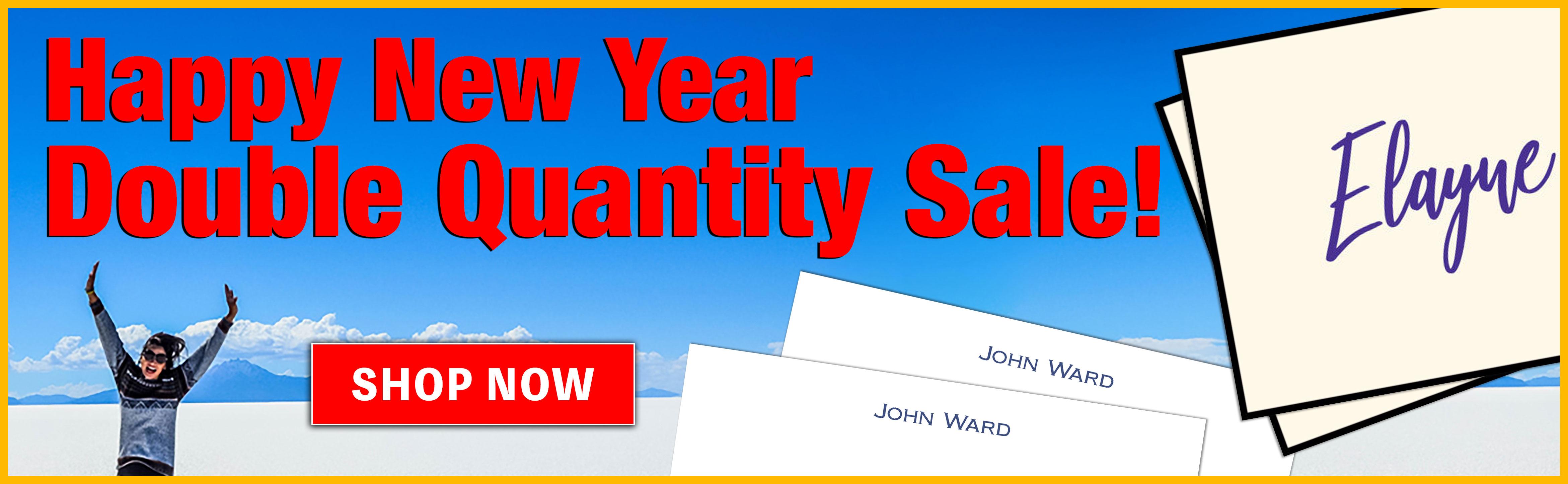 Double Quantity Sale at StationeryXpress.com!