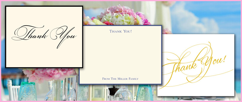 Thank You Cards at StationeryXpress.com   Flat Cards & Fold Notes