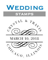 Wedding Stamps by Three Designing Women at StationeryXpress
