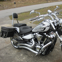 Randy's '13 Yamaha Raider w/ Concord Studded Motorcycle Saddlebags