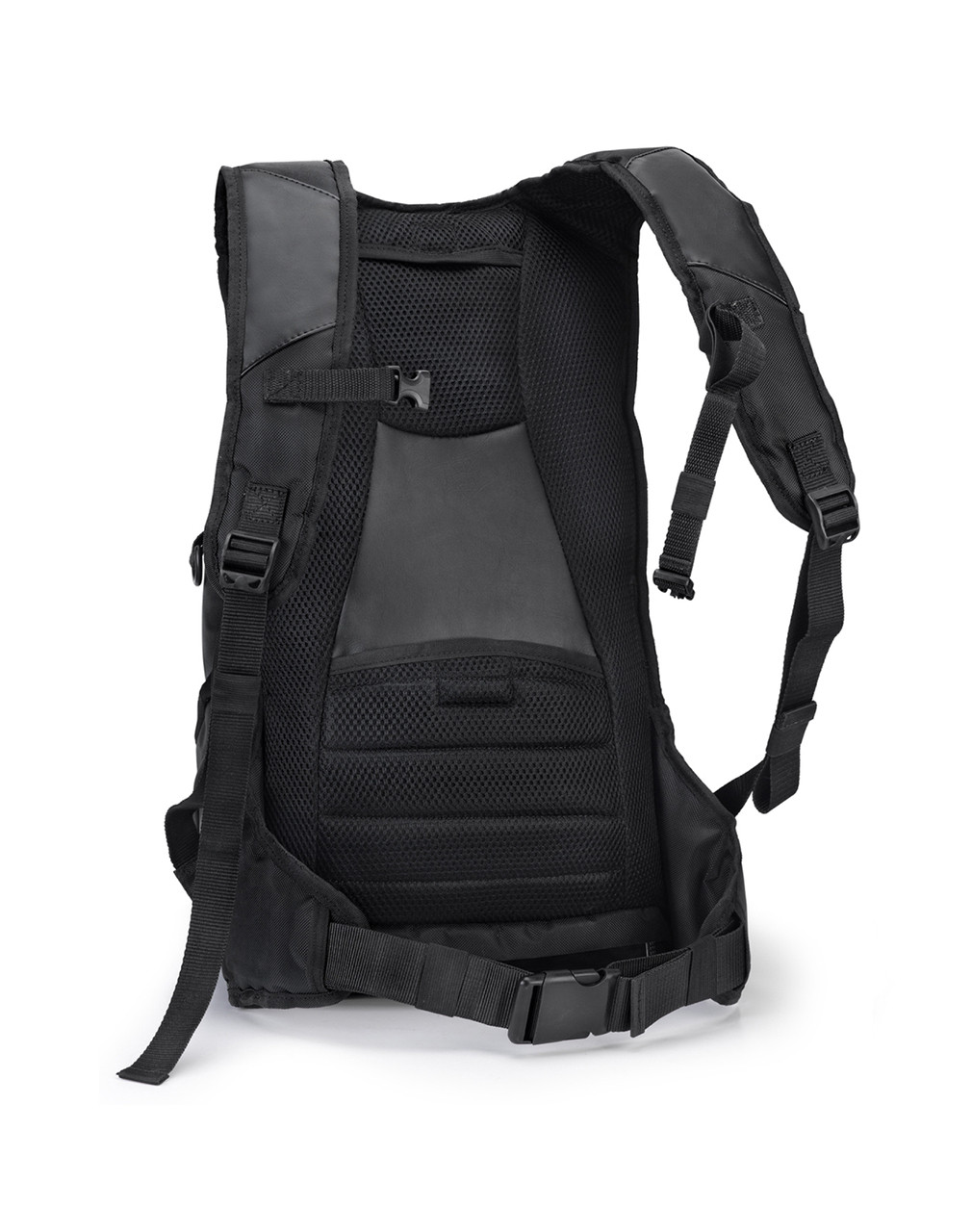 Triumph Viking Motorcycle Large Backpack Back View