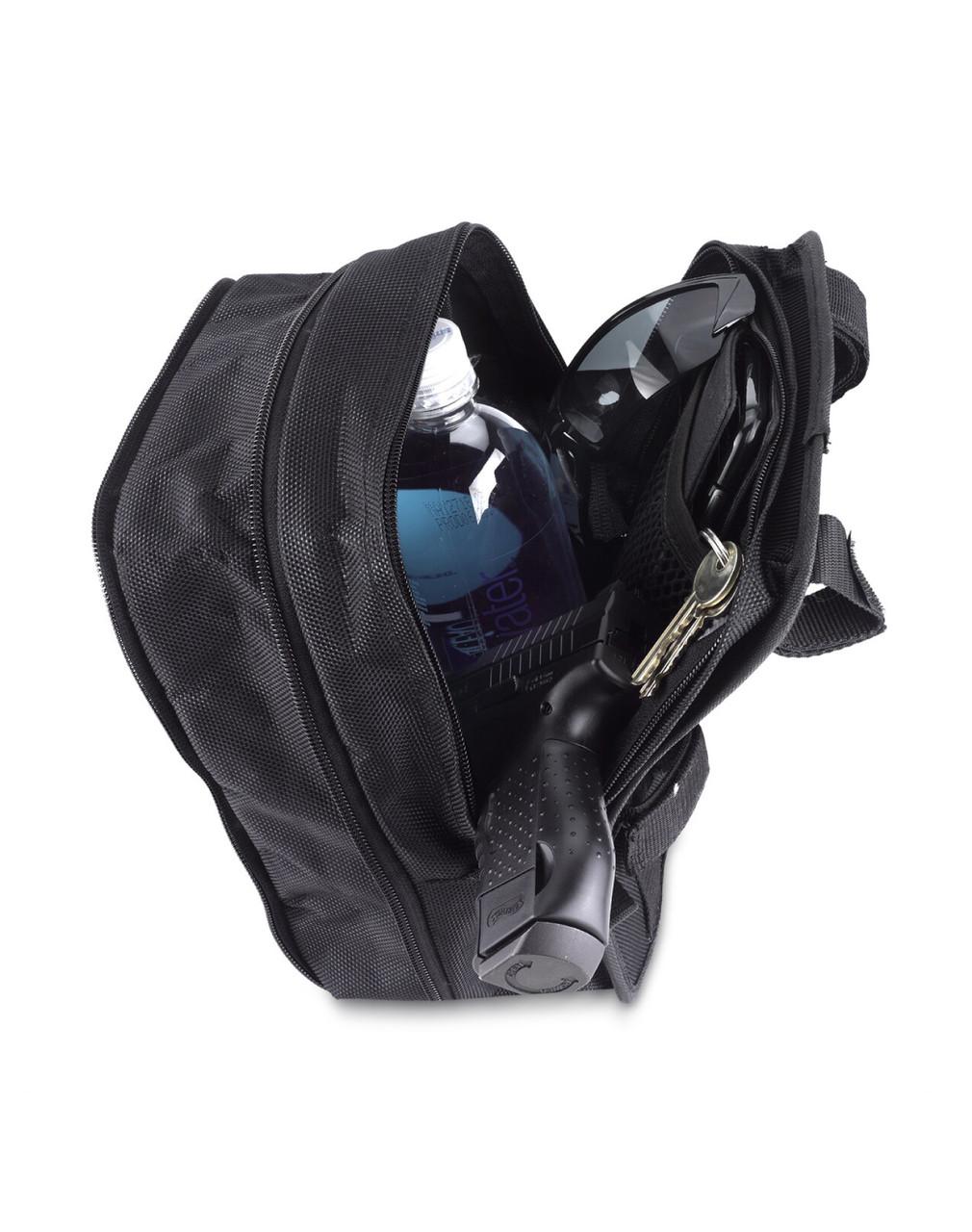 Honda Viking Tall T-Bar Bag Carrying Items View