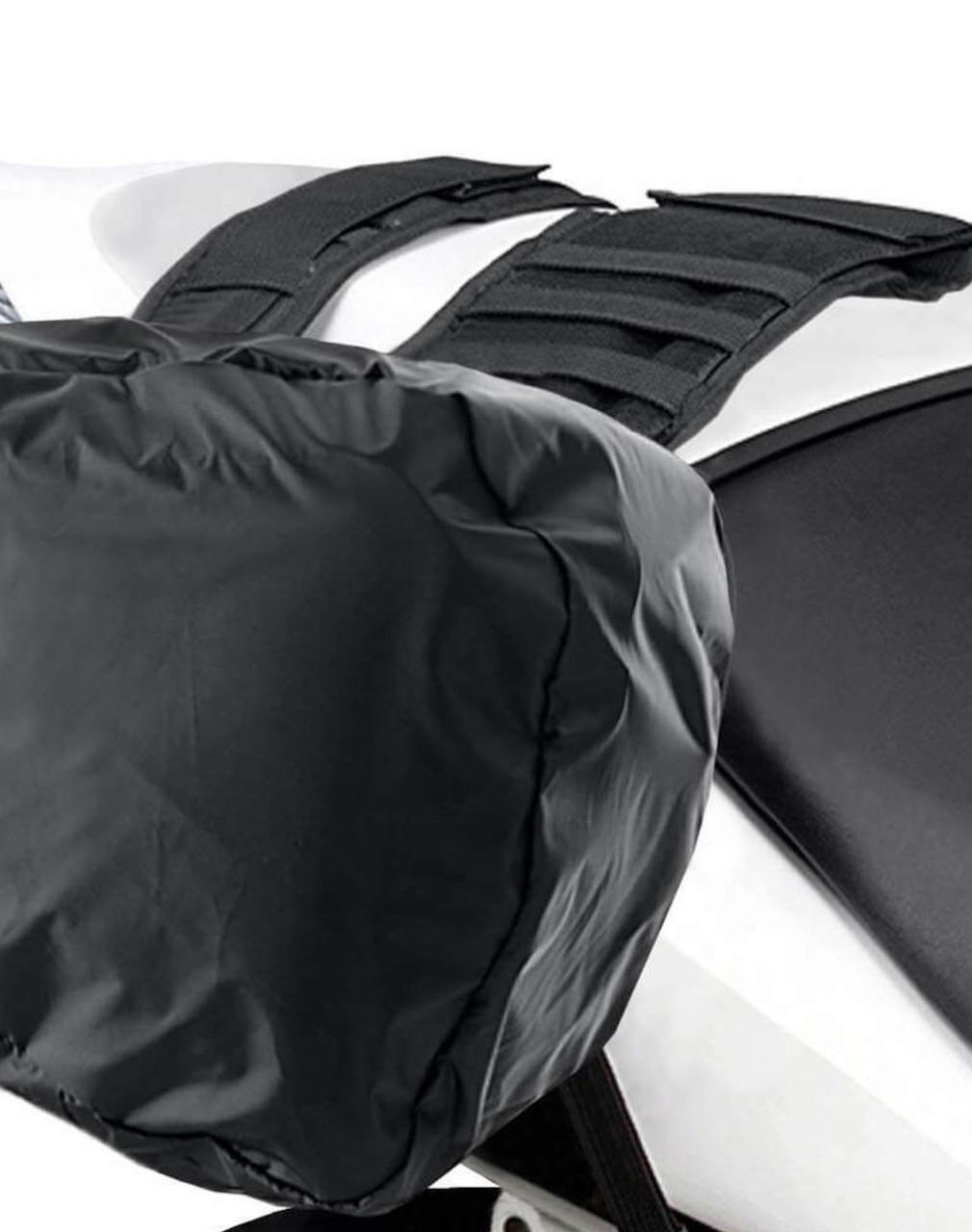 Viking AXE Medium Black Motorcycle Triumph Bonneville T120 Saddlebags Rain Cover