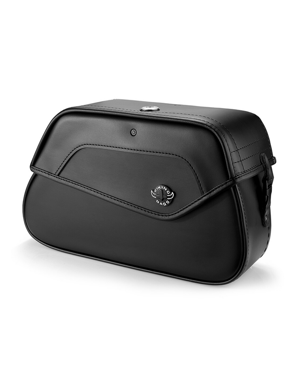 VikingBags Loki Medium Leather Motorcycle Saddlebags For Harley Softail Low Rider S FXLRS Main View