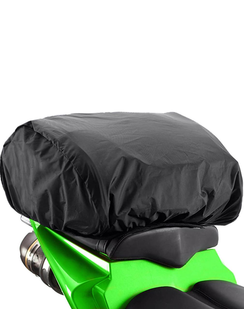 VikingBags Large Motorcycle Tail Bag For Harley Davidson Rain Cover