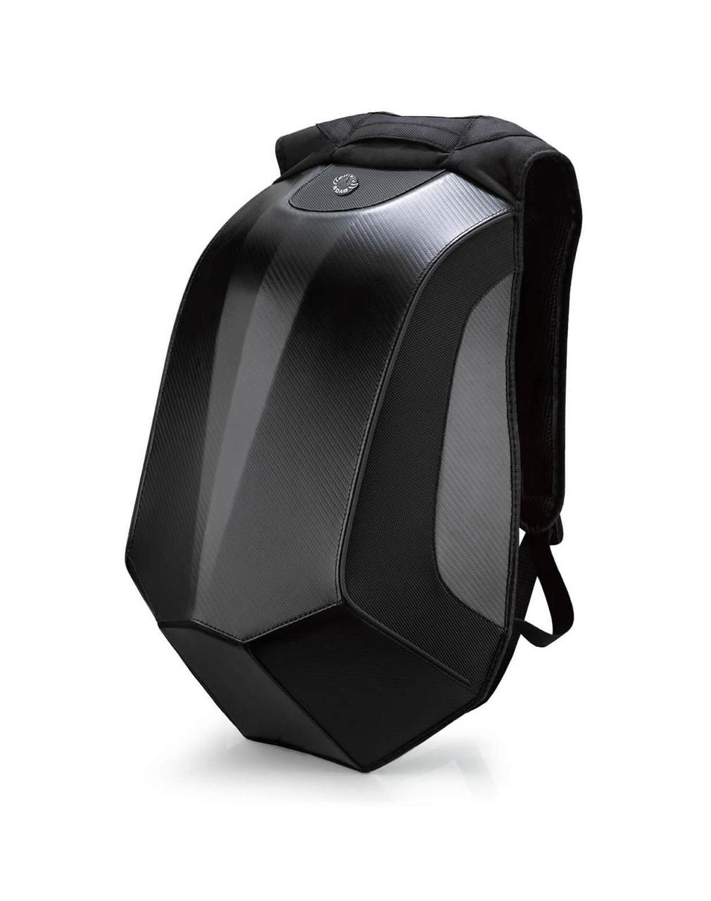 VikingBags Velocity Large Black Expandable Motorcycle Backpack Main View