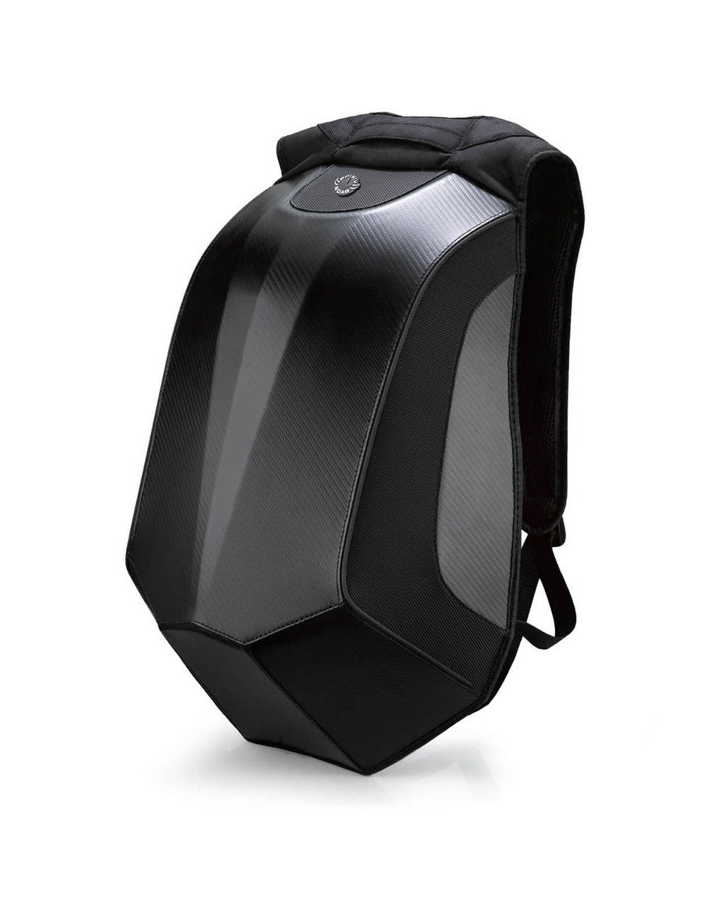 VikingBags Velocity Large Black Expandable Triumph Motorcycle Backpack Main Bag View