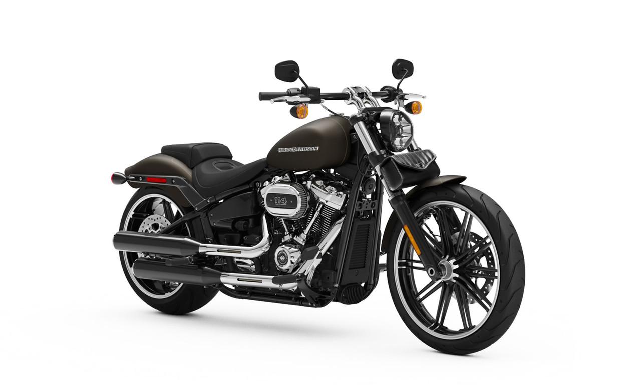 Viking Iron Born Vertical Stitch Leather Motorcycle Tool Bag for Harley Davidson Bag on Bike
