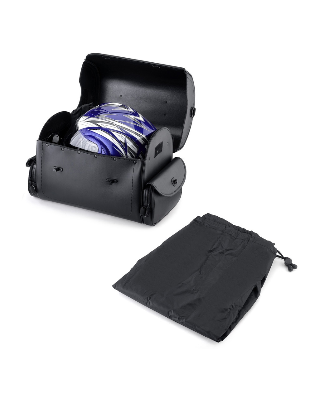 Viking Warrior Motorcycle Trunk 2400 Cubic Inches Storage View