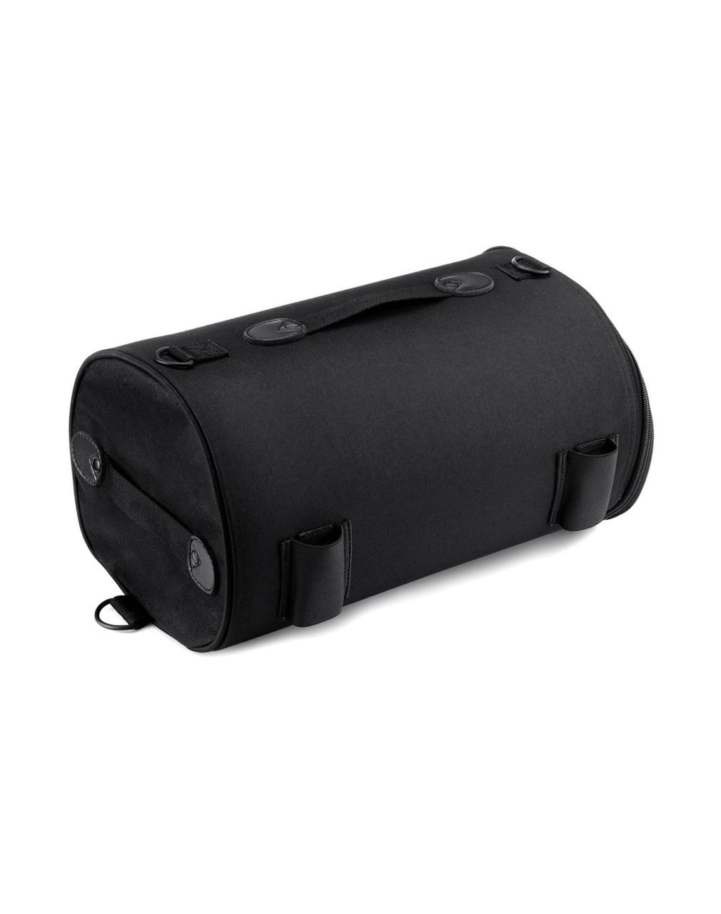 Viking Extra Large Plain Motorcycle Sissy Bar Bag Roll Bag