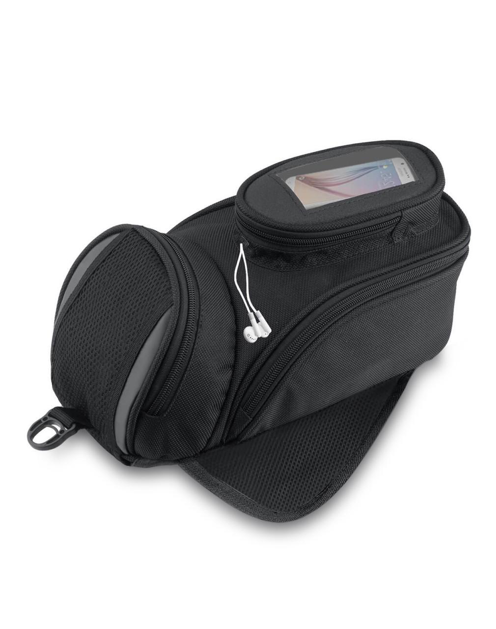 VikingBags Survival Series Large Black Street/Sportbike Tank Bag Main Bag View