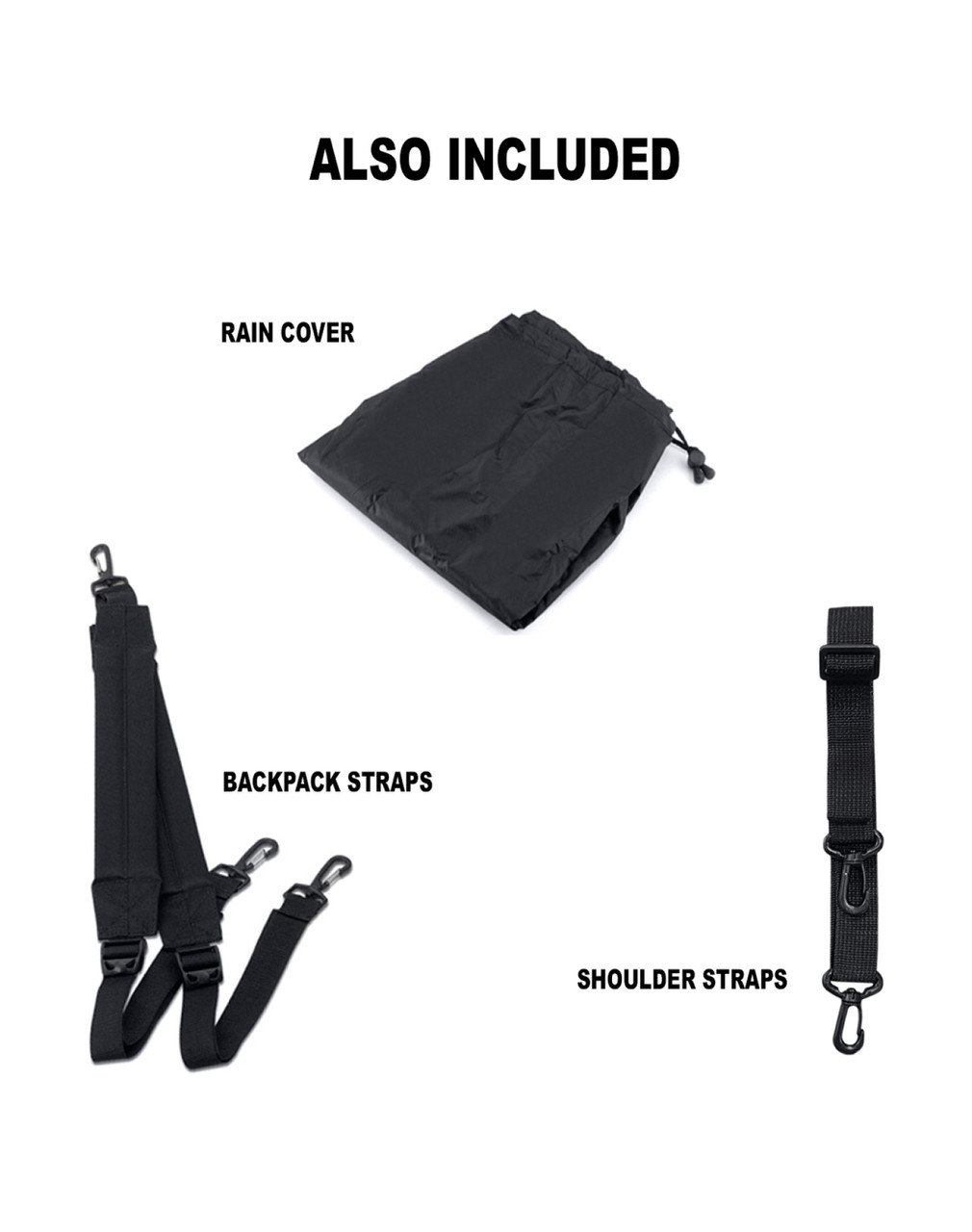 Viking 14 Medium Black Street/Sportbike Tank Bag Atraps