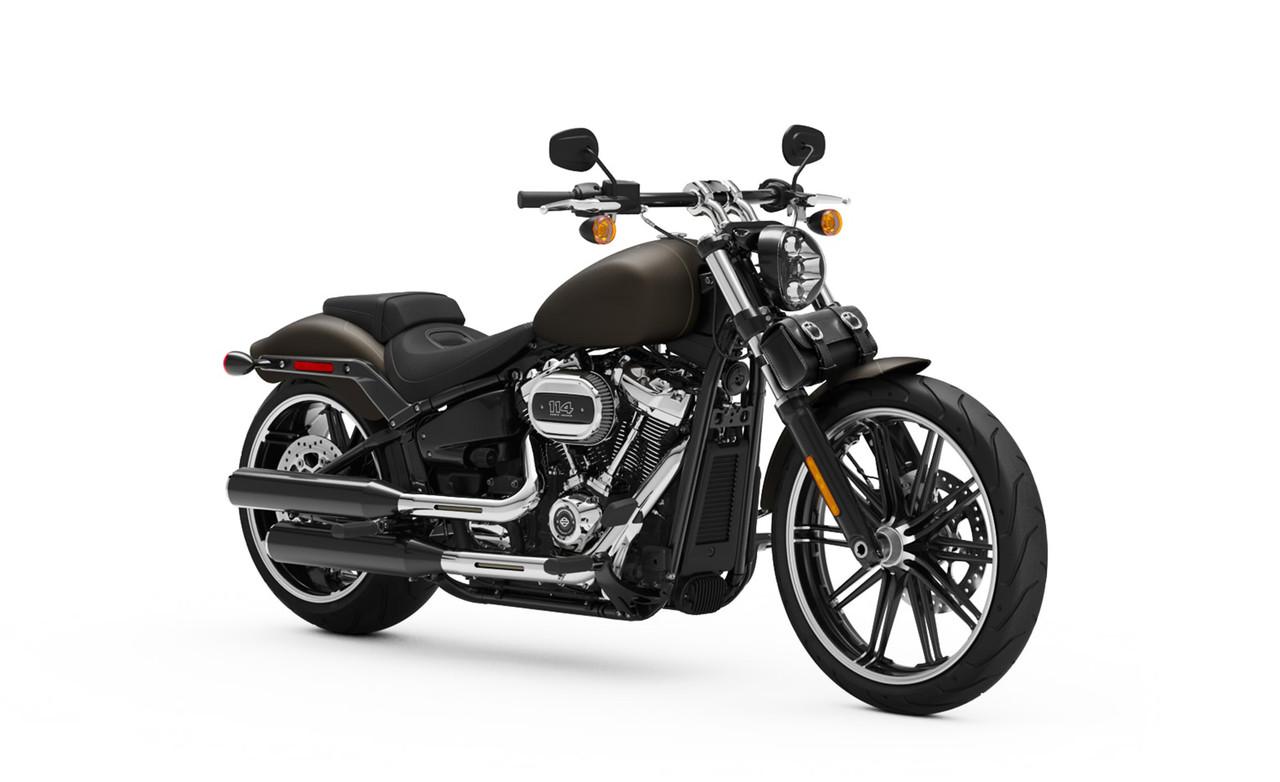 VikingBags Armor Plain Motorcycle Tool Bag Bag on Bike View