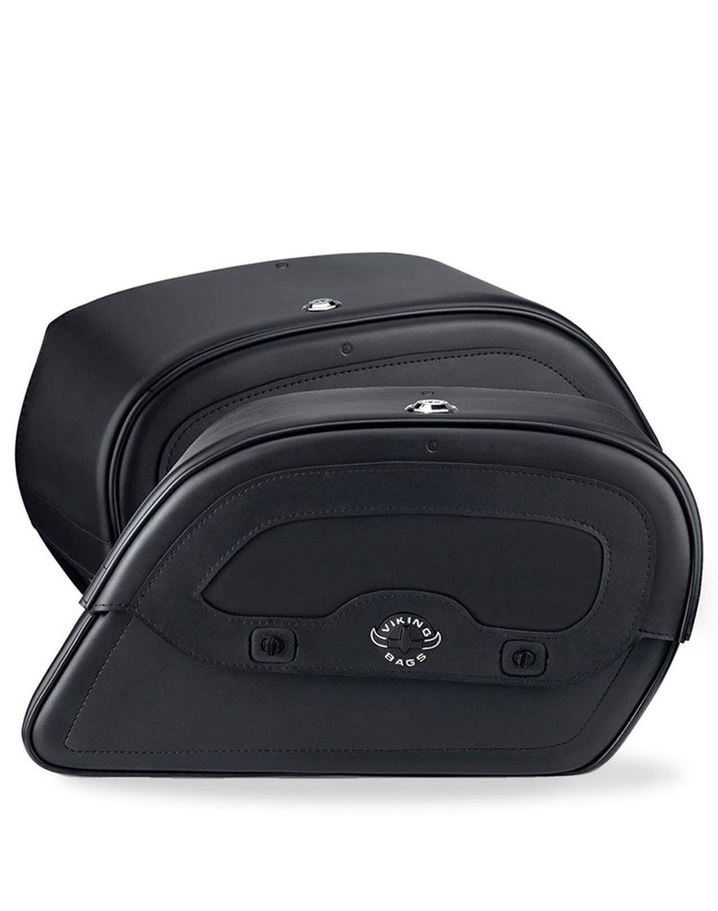 Viking Warrior Series Medium Saddlebags For Harley Dyna Low Rider FXDL Both Bags View