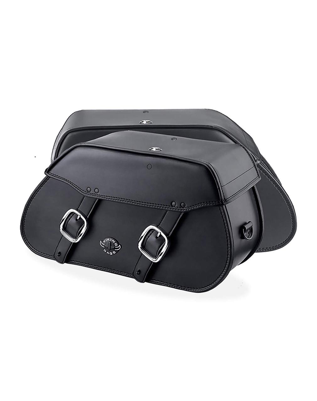 Honda 1500 Valkyrie Standard Pinnacle Motorcycle saddlebags Both Bags View