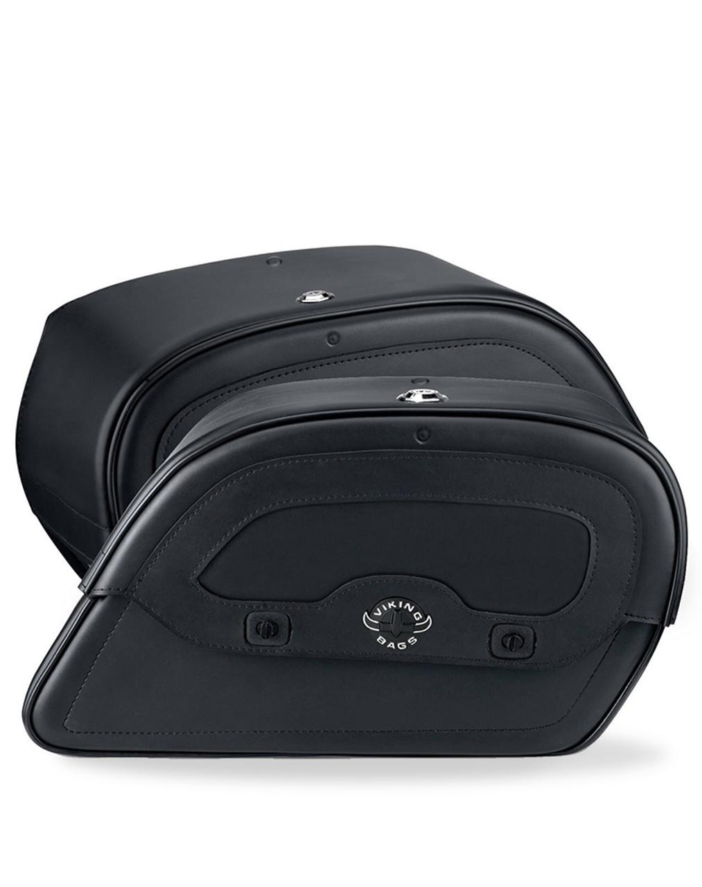 Honda VTX 1800 N Warrior Motorcycle Saddlebags Both Bags View