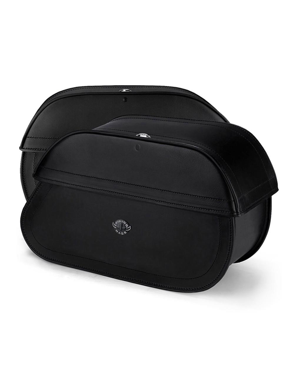 Suzuki Boulevard C90,VL1500, Intruder Hammer Series Extra Large Luggage Both Bags View