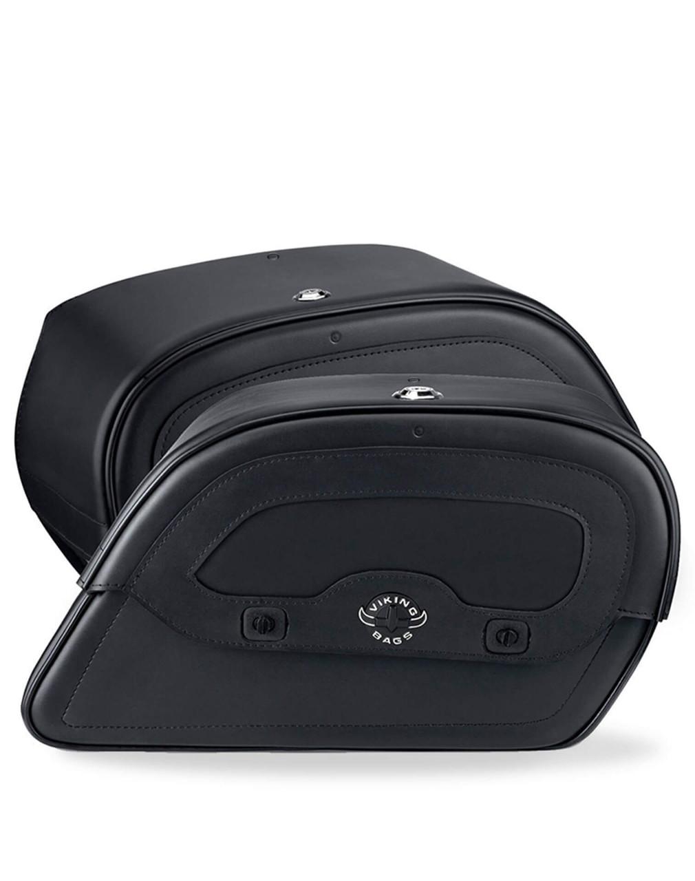Honda 1500 Valkyrie Standard Warrior M Motorcycle saddlebags Both Bags View