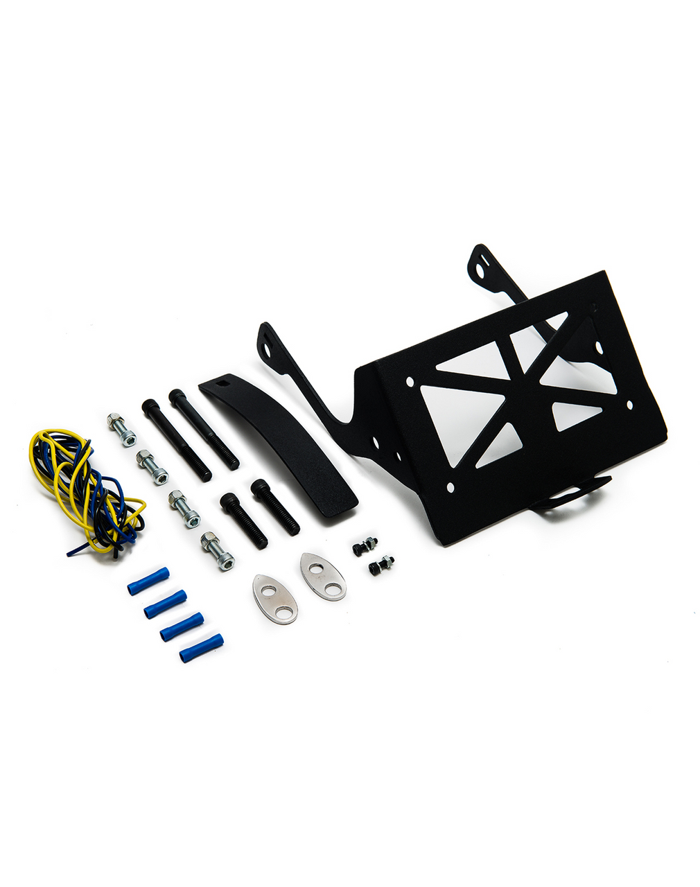 Sportster Licence Plate and Turn Signal Relocation Kit with Nets and Bolts