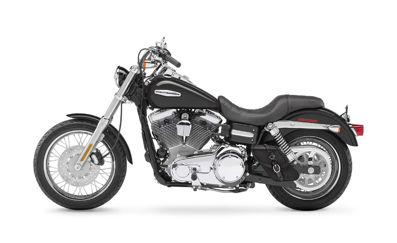 VikingBags Motorcycle Swing Arm Bag For Harley Dyna Bag On Bike View