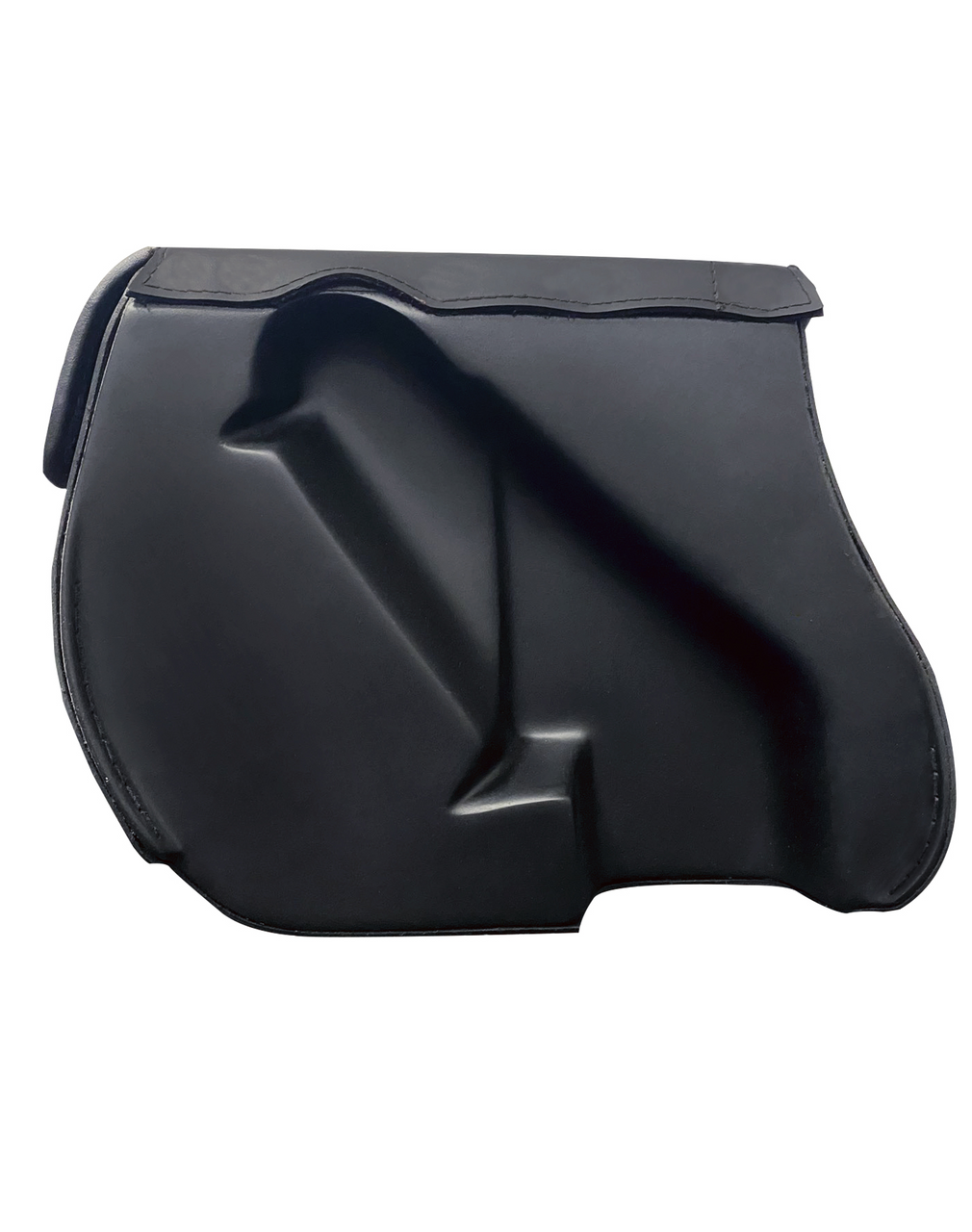 VikingBags Specific Medium Double Strap Shock Cutout Motorcycle Saddlebags For Harley Dyna Low Rider FXDL Shock Cutout View