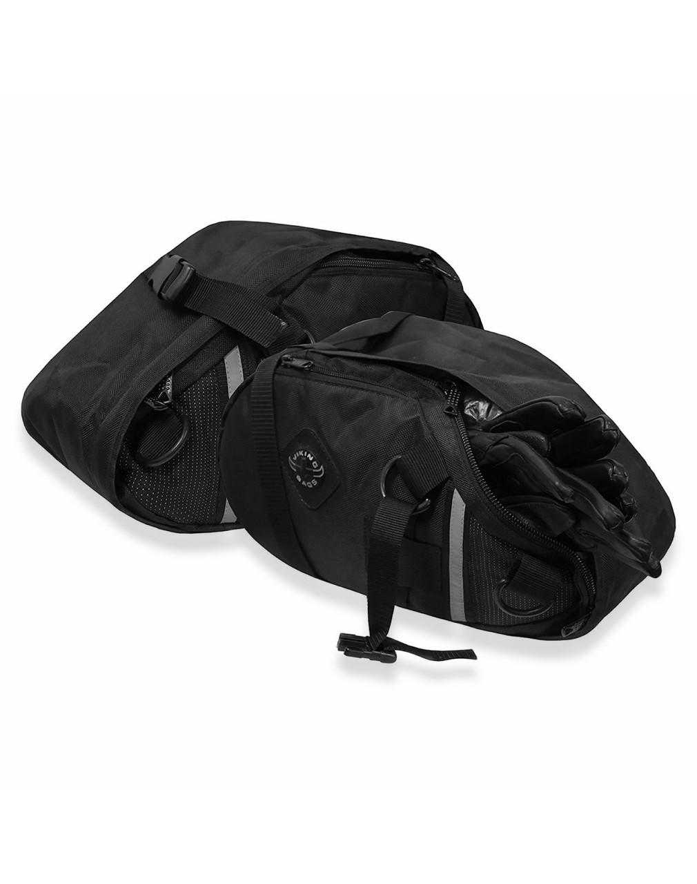 Viking Dirtman Medium Black Dirt Bike/Enduro Saddlebags Both bags View