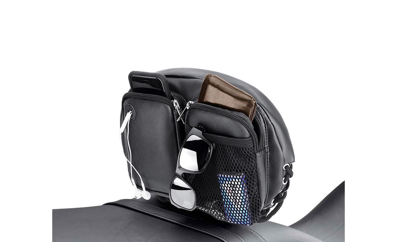 Viking Backrest Organizer Kit Bag on Bike View