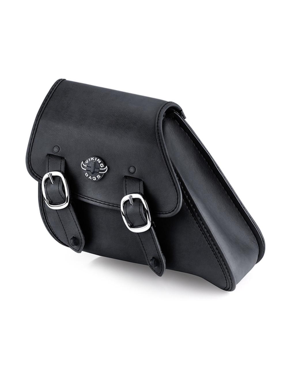 VikingBags Dyna Motorcycle Black Swing Arm Bag Main Bag View