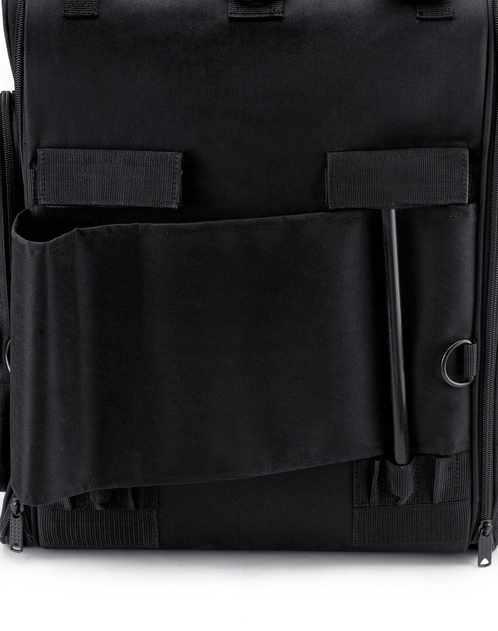 Suzuki Viking Extra Large Plain Motorcycle Sissy Bar Bag Back Side View