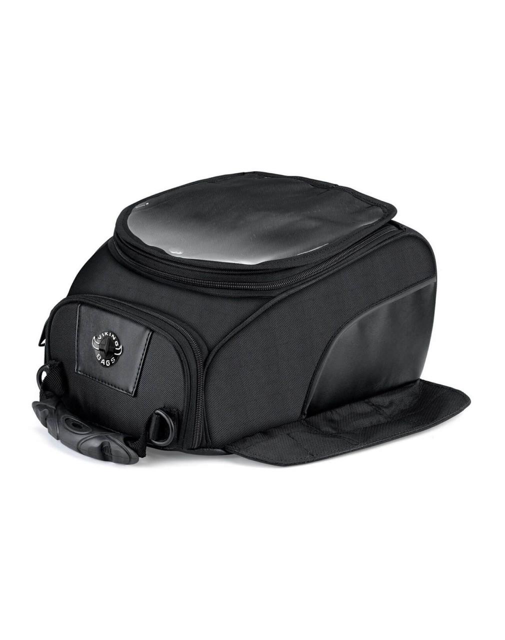 VikingBags 14 Large Magnetic Motorcycle Tank Bag For Harley Davidson Main Bag View