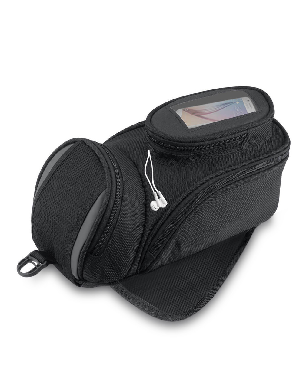 VikingBags Survival Series Kawasaki Magnetic Motorcycle Tank Bag Main Bag View