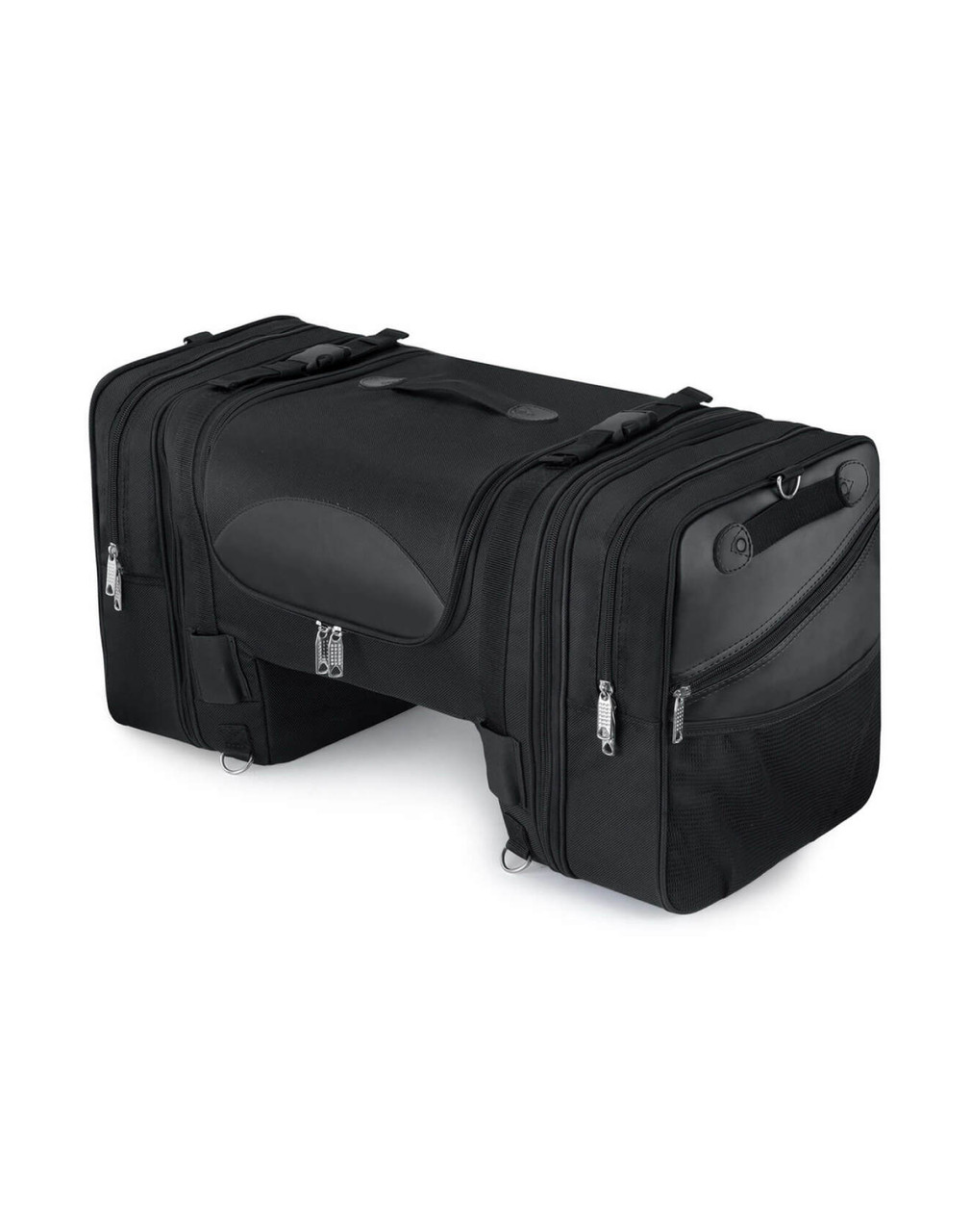 Kawasaki Viking Expandable Cruiser Motorcycle Tail Bag Main Bag View