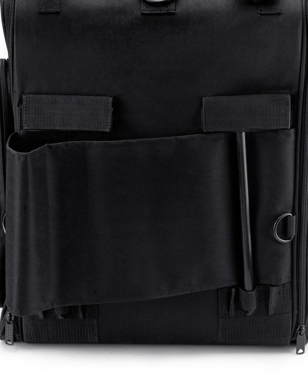 Suzuki Viking Extra Large Studded Motorcycle Tail Bag Back Side View