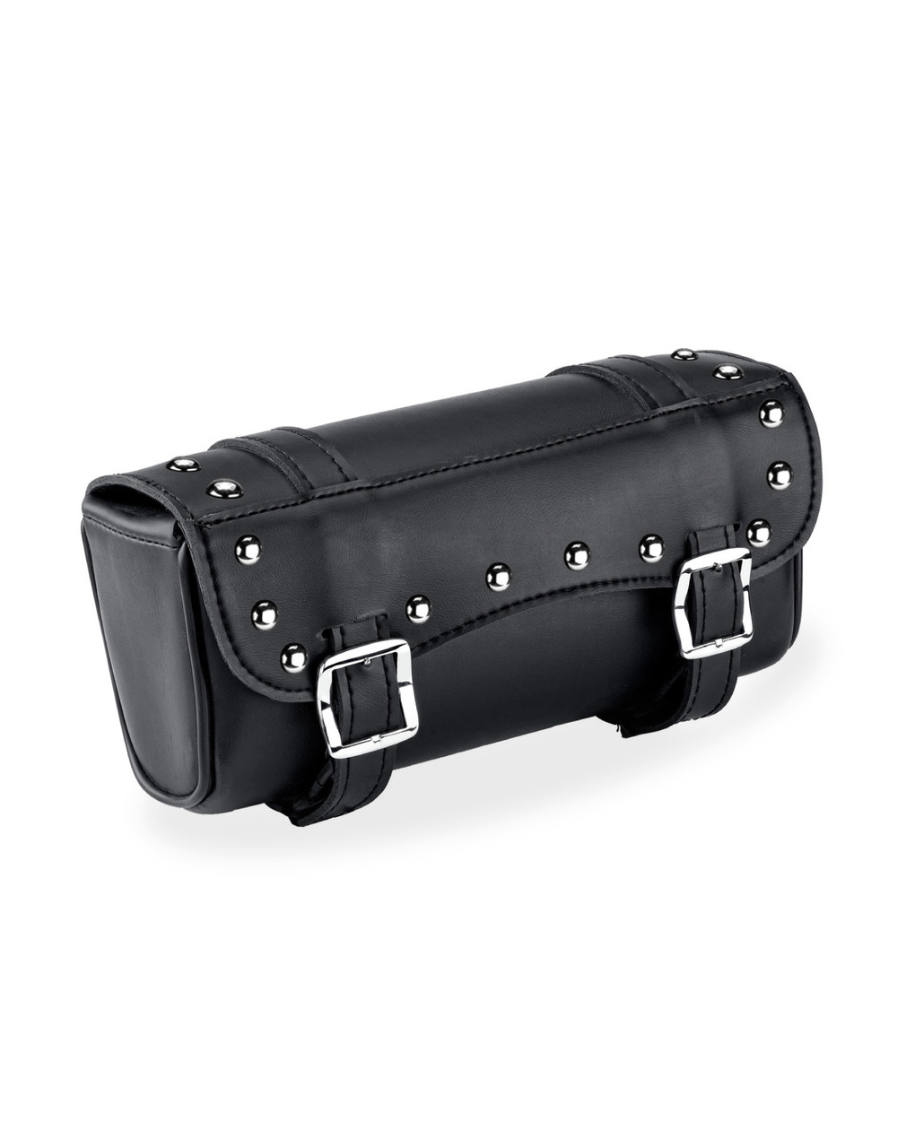 Kawasaki Medium Universal Studded Motorcycle Tool Bag Main Bag View