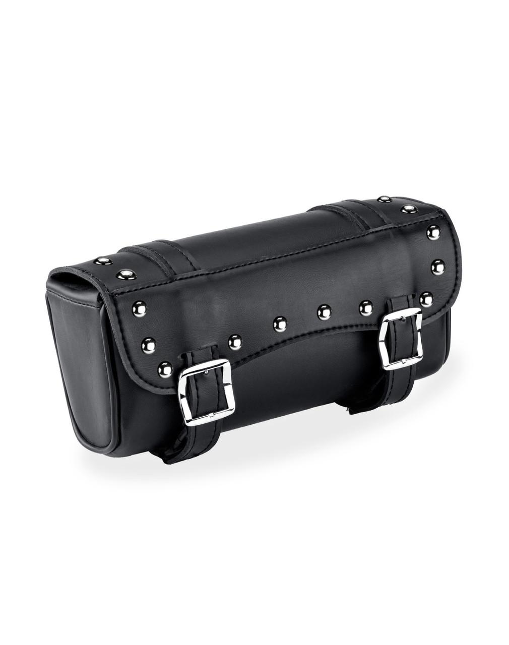Victory Medium Universal Studded Motorcycle Tool Bag Main Bag View
