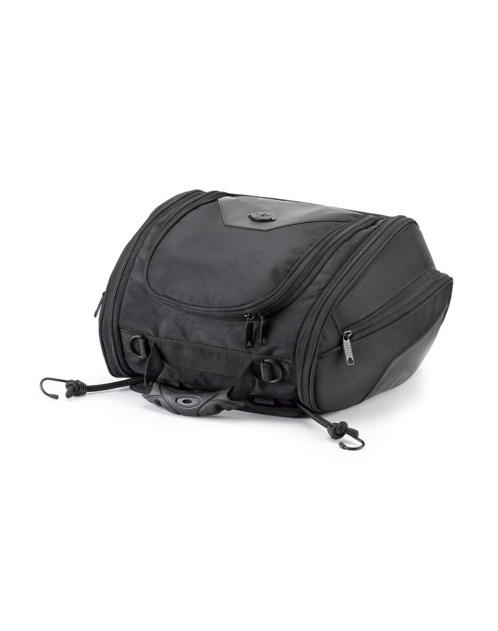 Harley Davidson Viking Sport Motorcycle Tail Bag Straps View