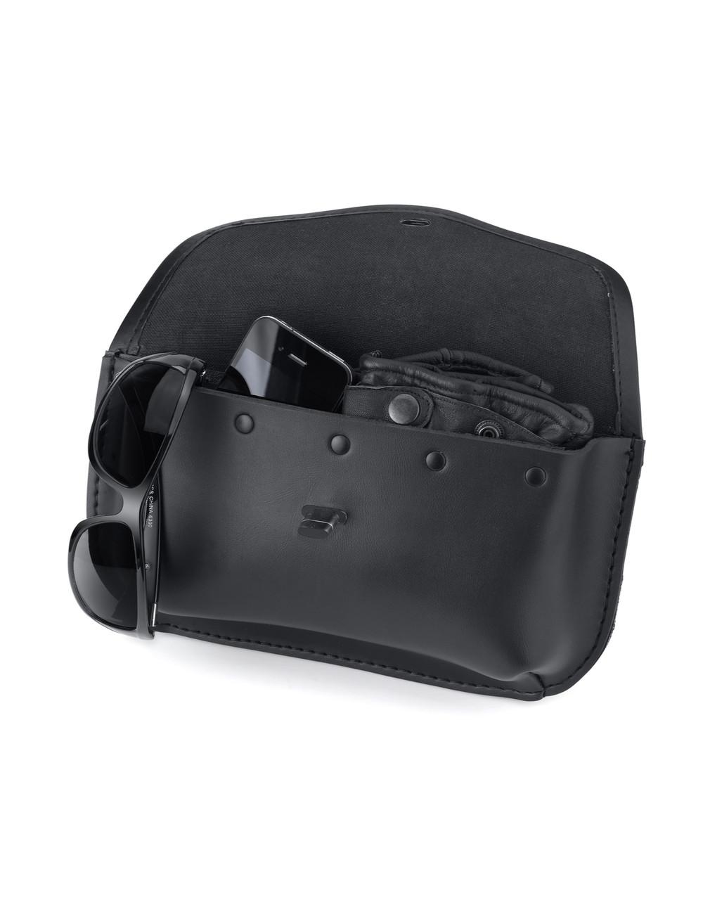 Revival Series Motorcycle Windshield Bag For Harley Davidson Storage View