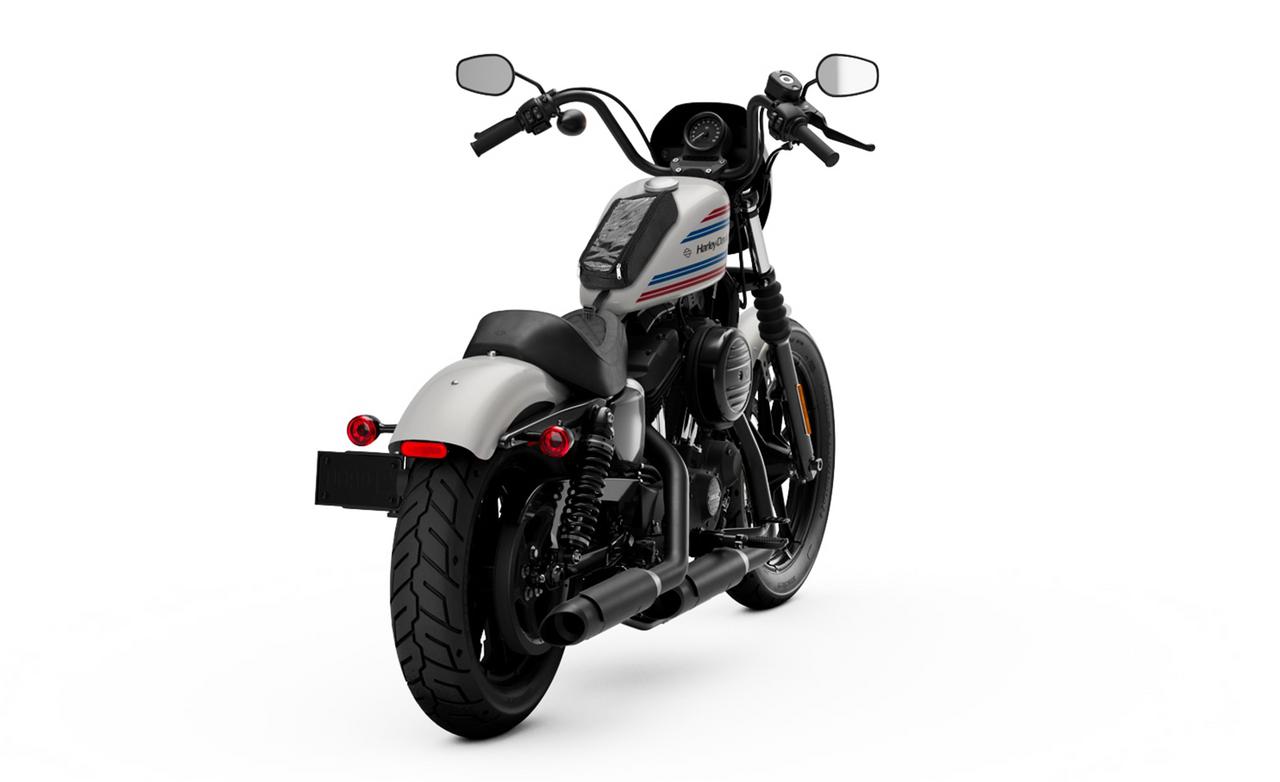 Viking Tank Bag for Harley Sportster Bag on Bike View