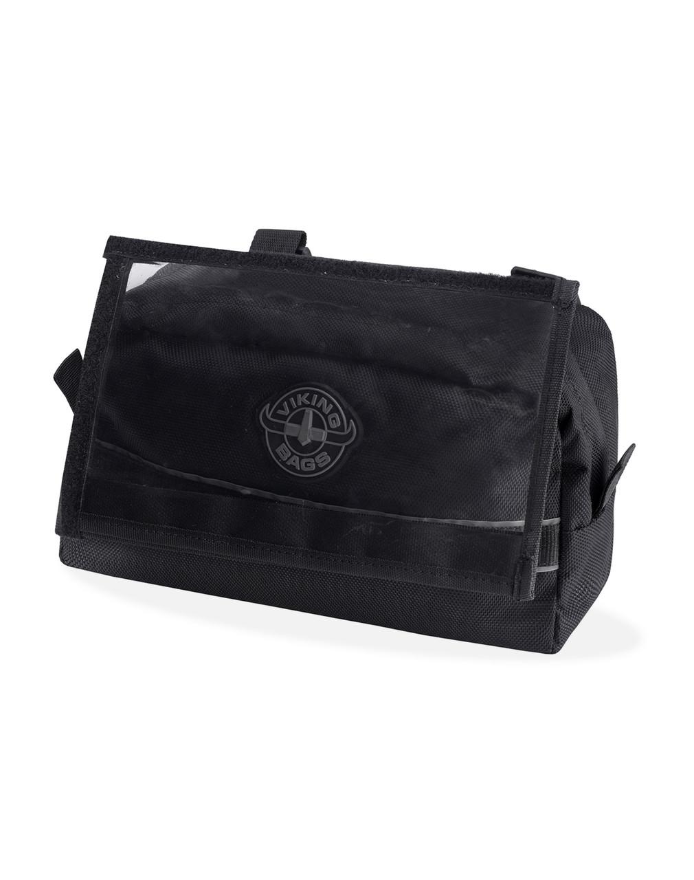 Viking Small Black Dirt Bike/Enduro Handleber Bag Main View