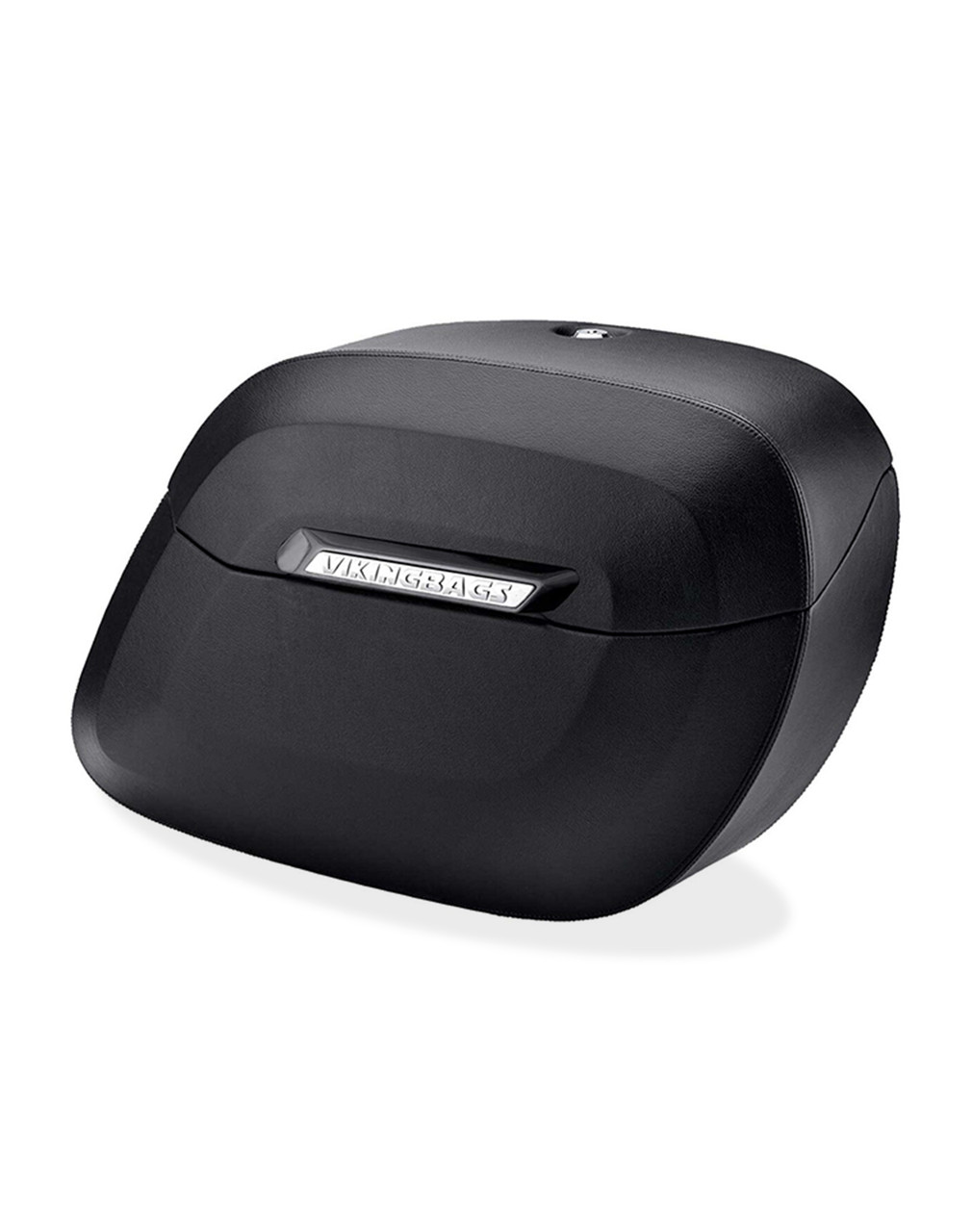 Victory High Ball Lamellar Large Leather Covered Non-Shock Cutout Hard Saddlebags