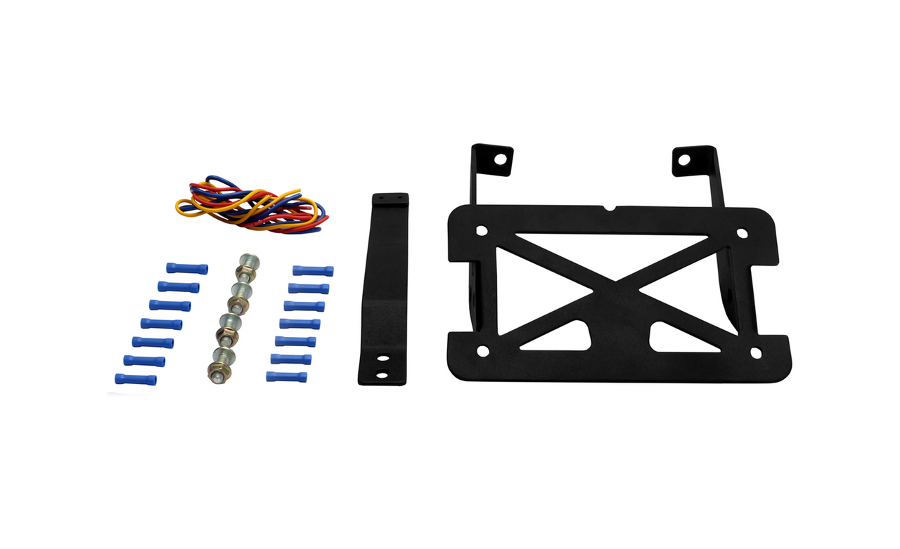 License Plate And Turn Signal Relocation Kit For Harley Davidson Softail with Accessory