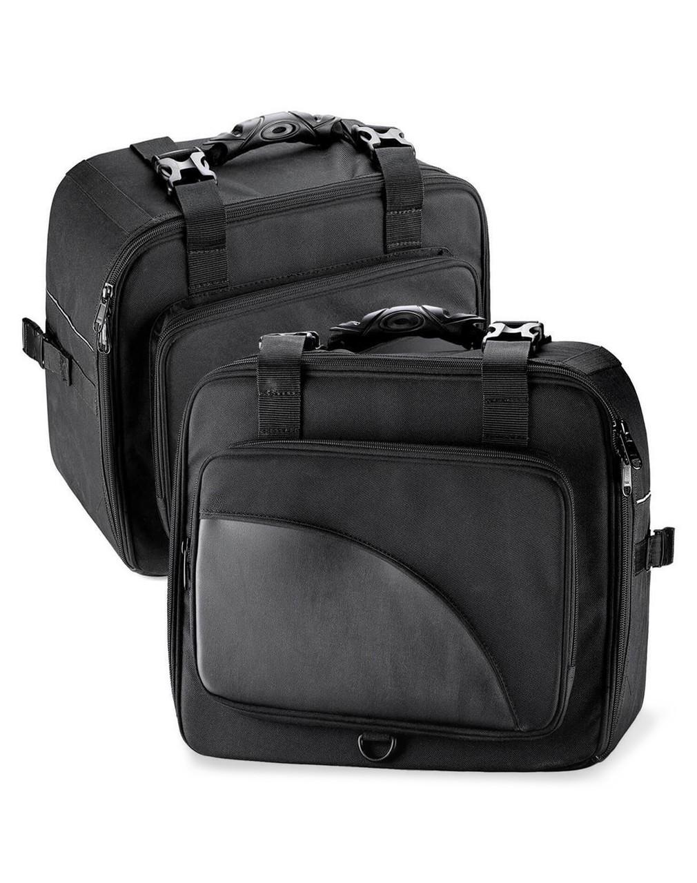 Viking Extra Large Black Street/Sportbike Saddlebag Both Bags View