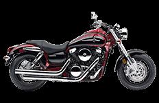 Kawasaki 1600 Mean Streak Saddlebags