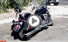 2009 Yamaha V Star 1300 Lamellar Motorcycle Hard Saddlebags Review