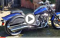 2014 Yamaha Raider Motorcycle Saddlebags Review