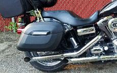 Harold's '11 Harley-Davidson Dyna w/ Motorcycle Saddlebags