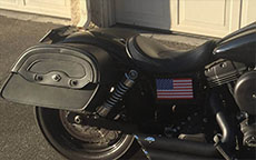 Brian's Harley-Davidson Dyna Street Bob w/ Motorcycle Saddlebags