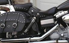 Rick's '09 Harley-Davidson Dyna Street Bob w/ Motorcycle Saddlebags