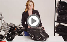 Honda Rebel Concord Studded Motorcycle Saddlebag Review